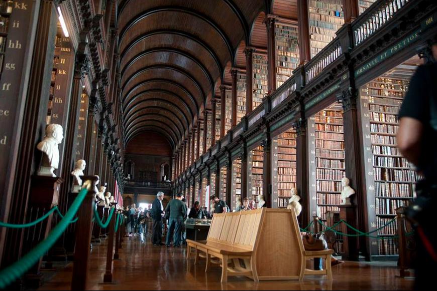 Library at Trinity